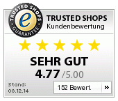 Trusted Shops Kundenbewertung